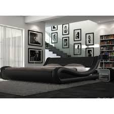 ENZO ITALIAN MODERN DESIGNER DOUBLE OR KING SIZE LEATHER BED