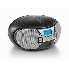 karcher rr5025 b boombox mit cd player und radio