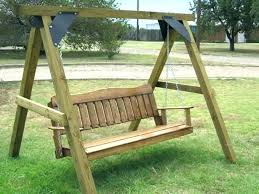 Porch Swing Frame Plans Build How To Build A Frame Porch Swing