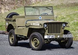 "Found In Crate"" 1944 Willys MB Jeep To Cross 