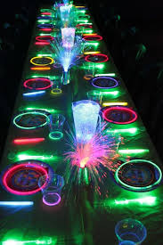 Cool Board Game Coffee Table Glow In The Dark Kids Birthday Party Ideas Unique Pastiche Events