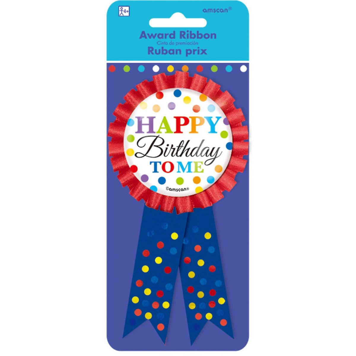 Amscan Bright Birthday Award - 15 cm