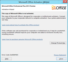 To Activate Microsoft fice 2013 line For Free