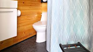 Shower Curtain Ideas For Small Bathrooms Small Bathroom Renovation The Reveal Lowe S Canada