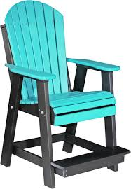 luxcraft adirondack balcony chair from dutchcrafters amish furniture