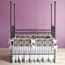 Bratt Decor Joy Crib Black by Iron Cribs U0026 Bassinets