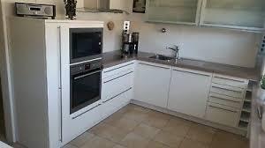 nolte einbauküche l form in lack weiss hochglanz incl e