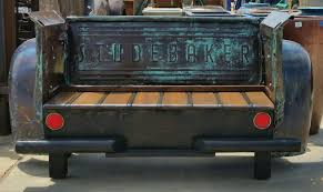 100 Truck Bed Seats Vintage Studebaker Truck Bed Bench Vintage Tailgate Benches