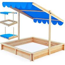 bac a avec toit bac à 140x140 marquise toit réglable bleu achat vente