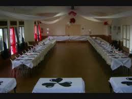 deco de salle anniversaire pas cher decoration de salle anniversaire blanc noir pour une fille