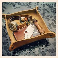 Mens Leather Dresser Valet by 31trum A Little Valet Tray For My Things One Board Fits All