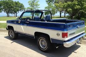 100 Convertible Chevy Truck Your Ride 1974 K5 Blazer