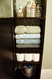 Quickie In The Bathroom by Iheart Organizing Oh Billy Concealing Cabinet Chaos