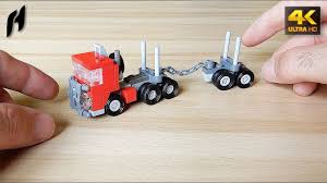 How To Build The Lego Timber Transport Truck With Trailer (MOC - 4K ... Step By Step Tutorial Made With Lego Digital Designer Shows You How Lego Fire Truck Archives The Brothers Brick How To Build A Dump Custom Moc Itructions Youtube Yoshinys Design 31024 Alrnate Build Moc3961 Semi Truck Trailer Town 2015 Rebrickable To A Car And Where Turn For Help Crazy Zipper Snaps Legolike Bricks Together Delivery 3221 City Review 60073 Service Jays Blog 015 Building Classic Diy