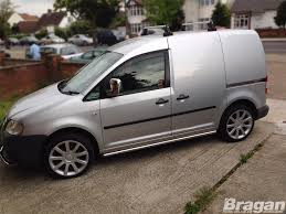 To Fit 04 - 10 Volkswagen VW Caddy ABS Shiny Chrome Mirror Covers ...