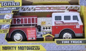 100 Tonka Mighty Motorized Fire Truck Amazoncom TONKA MOTORIZED FIRE TRUCK Engine W Flashing