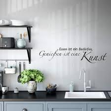 wandsprüche zitate für die küche als wandtattoo