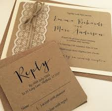 Emma Rustic Wedding Invitation From Thevowsheffield