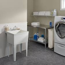 Fiat Mop Sink Canada fl1 molded stone laundry tub with legs laundry sink fiat