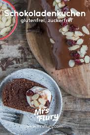 gesunder schoko bananenkuchen ohne zucker glutenfrei mrs