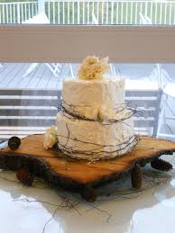 Rustic Wedding Cake On Central