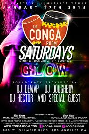 conga room saturday glow party 2 dance rooms