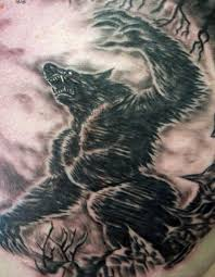 Werewolves Signify The Connection Between Man And Wolves If You Find A Very Good Professional Tattoo Artist Can Get Yourself An Amazing