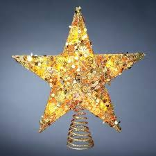 Christmas Tree Star Topper Led Lighted Toppers Pertaining To Gallery Of I With Prepare