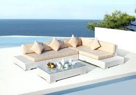 Modern Pool Furniture Low Profile Outdoor Ultra