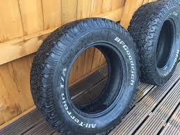 4x BF Goodrich All Terrain T/A KO Truck 4x4 Used Good Tyres 265/65 ... Bf Goodrich Allterrain Ta Ko Tirebuyer Proline Ko2 22 Inch G8 Truck Tire 2 Bf Tires 1920 New Car Reviews The Bfgoodrich Dr454 Heavy Youtube Allterrain Tires Bfg All Terrain Lt21585r16 Commercial Season 115r Launches Smartwayverified Drive Tire News Route Control S Tyres Bustard Chrysler Dodge Jeep Ram Bfg Top Release 2019 20
