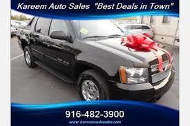 Used Chevrolet Avalanche for Sale in Sacramento CA
