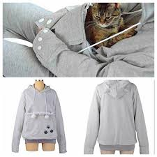 cat hoodies 2017 cat hoodies with cat cuddle pouch mewgaroo