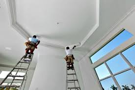 airless paint sprayer for ceilings how to paint a ceiling with a hvlp spray gun paint sprayer expert