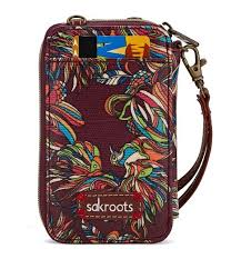 Artist Circle Smartphone Wristlet Mulberry Treehouse in Prints