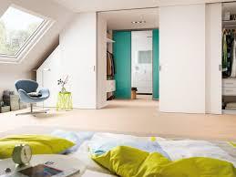 raumlösungen für dachschrä für das schlafzimmer im