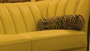 Microfiber furniture is not difficult to clean
