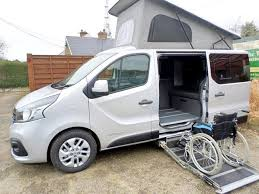 Wheelchair Campervan WAV Conversion At Nirvana Mobility