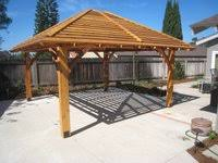 Detached patio cover plans