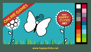 Coloring Pages Printable Butterfly White Games For Toddlers Online Free Adorable Amazing Comprehension Early