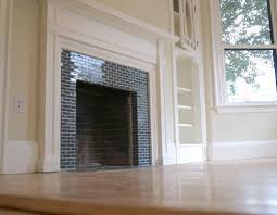 subway tile fireplaces apartment therapy