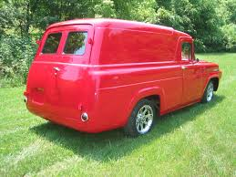 100 1955 Ford Panel Truck Done And Delivered Doug Jenkins Garage