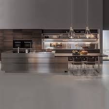 Modern Kitchen Forma Modern Minimal Wooden Italian Kitchen