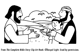 Clipart Of Jesus Feeding The Hungry Image