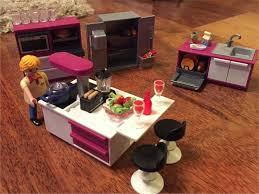 playmobil luxusvilla küche