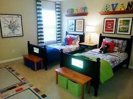 Boys Love Color In New Rental Home Shared Bedroom For My 5 6 Year