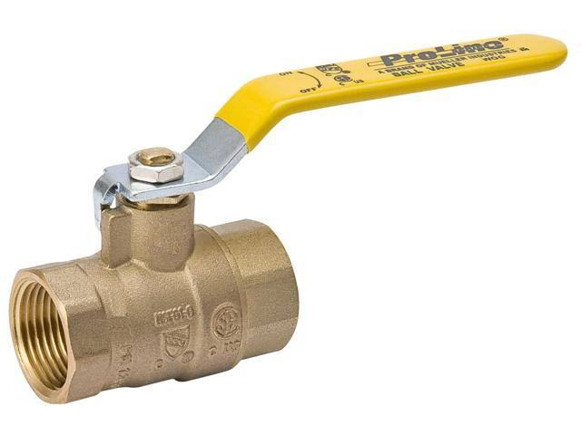 B&K Industries 107-817NL Low Lead Ball Valve - 1-1/2in