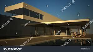 100 Modern Summer House Render Stock Illustration 42423775 Shutterstock