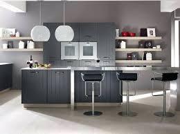 deco cuisine grise et deco cuisine gris cuisine contemporaine grise on decoration d