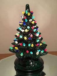 Vintage Atlantic Mold Ceramic Christmas Tree by Christmas Vintage White Ceramic Christmas Tree Lights Decoration