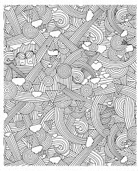 Free Coloring Page Adult Zen Anti Stress To Print Rainbows